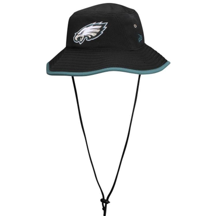 2c35d46da2691 New Era Philadelphia Eagles Team Bucket Hat - Black