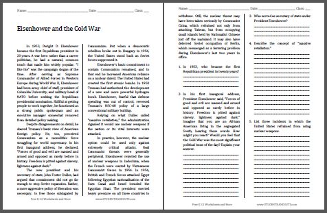 us history essay questions cold war One of such theme can be about cold-war essay topics which you can find here selecting the title and the issue of investigation are the very first things which a writer should do at this page, you can see numerous ideas on topics about cold-war.