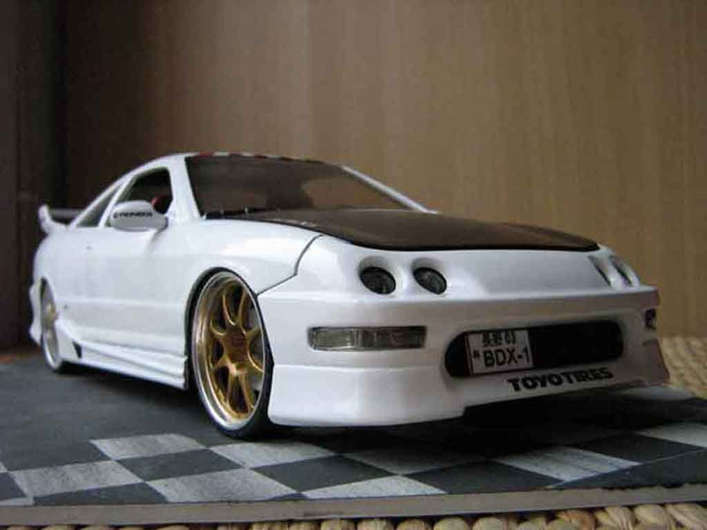 Honda Integra Type R Jdm White Tuning Hot Wheels. Honda Integra Type R Jdm  White