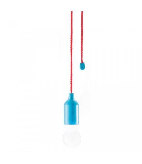 Loooqs Led Hangeleuchte Pull Lamp Blau Neu Ovp Ziehlampe Kunststoff Lampe 2 Flowerpower Led Hangeleuchte Led Lampe Led