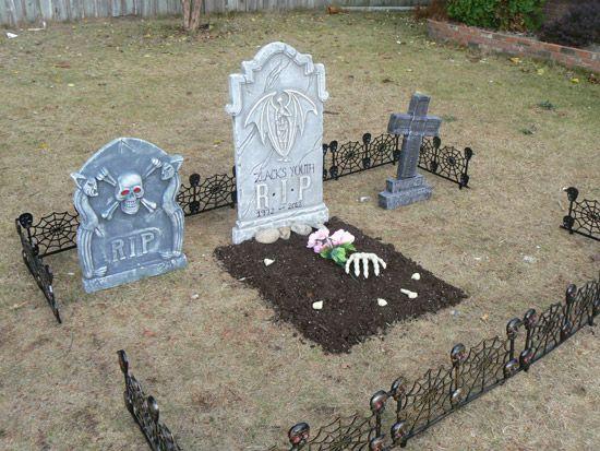 40th Birthday Theme Halloween Graveyard