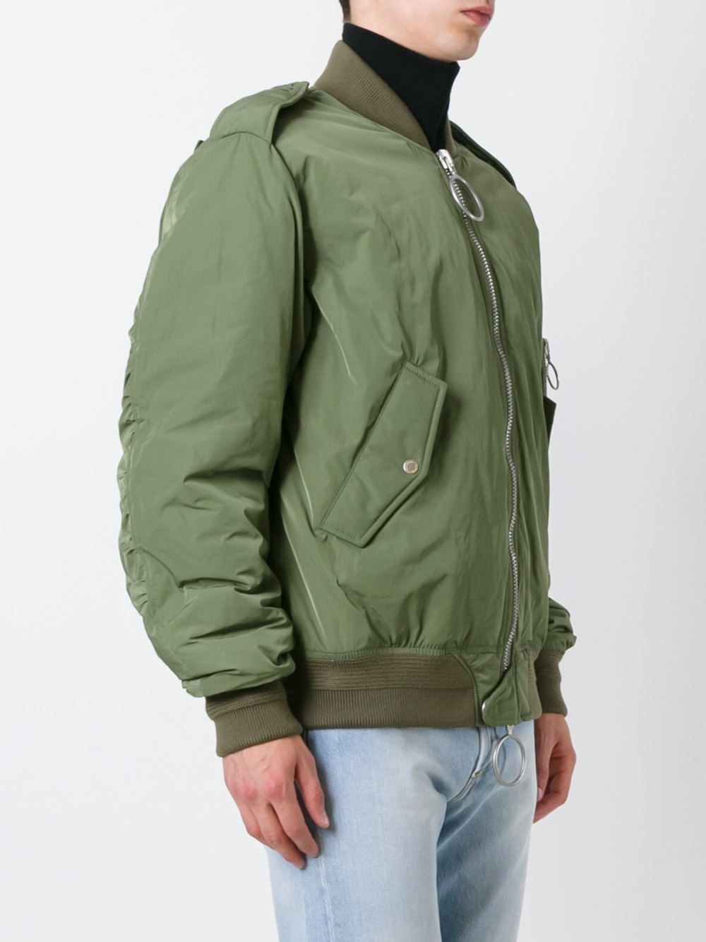 8cdb202d1 Off-White back patch bomber jacket | bomb.Bombers | Designer bomber ...