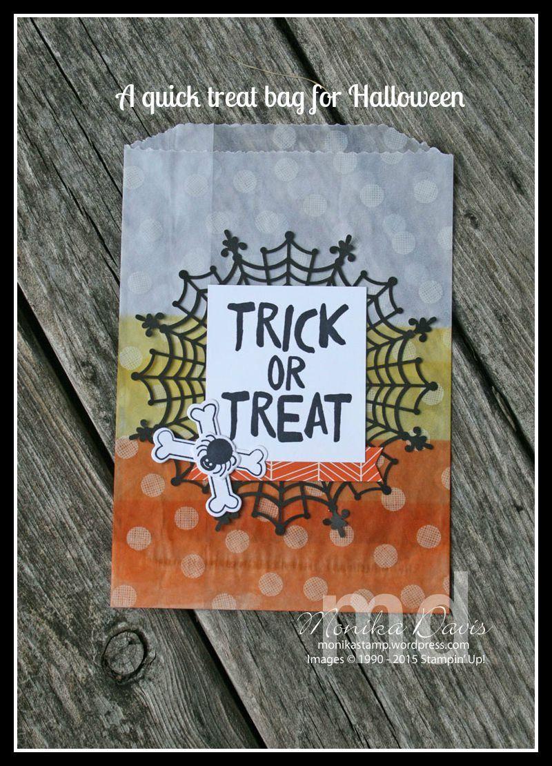 0bedd901f357 Stampin  Up! Howl-o-ween Treat stamp set