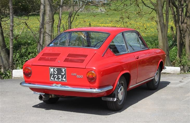 classic fiat 850 coupe for sale classic sports car. Black Bedroom Furniture Sets. Home Design Ideas