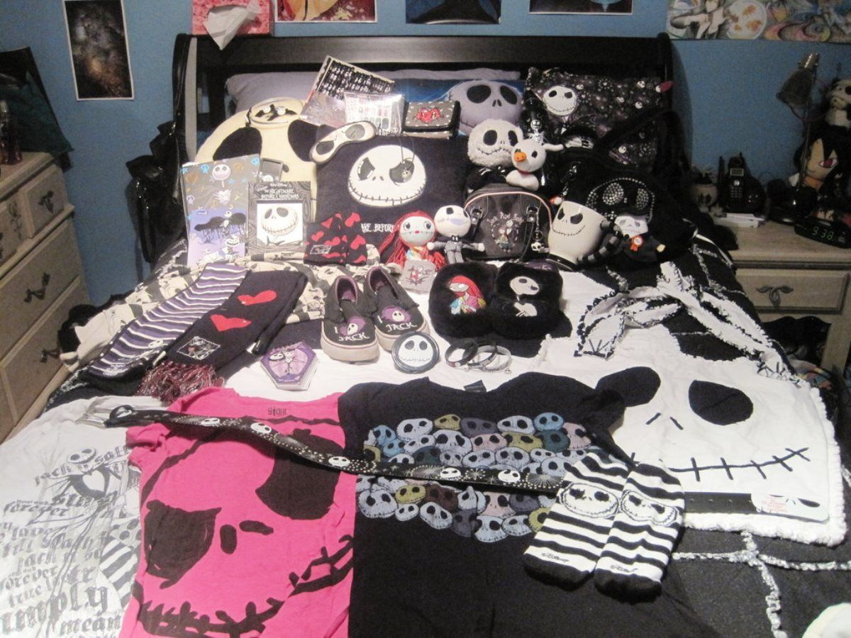 nightmare before christmas room decorating | boy rooms ideas