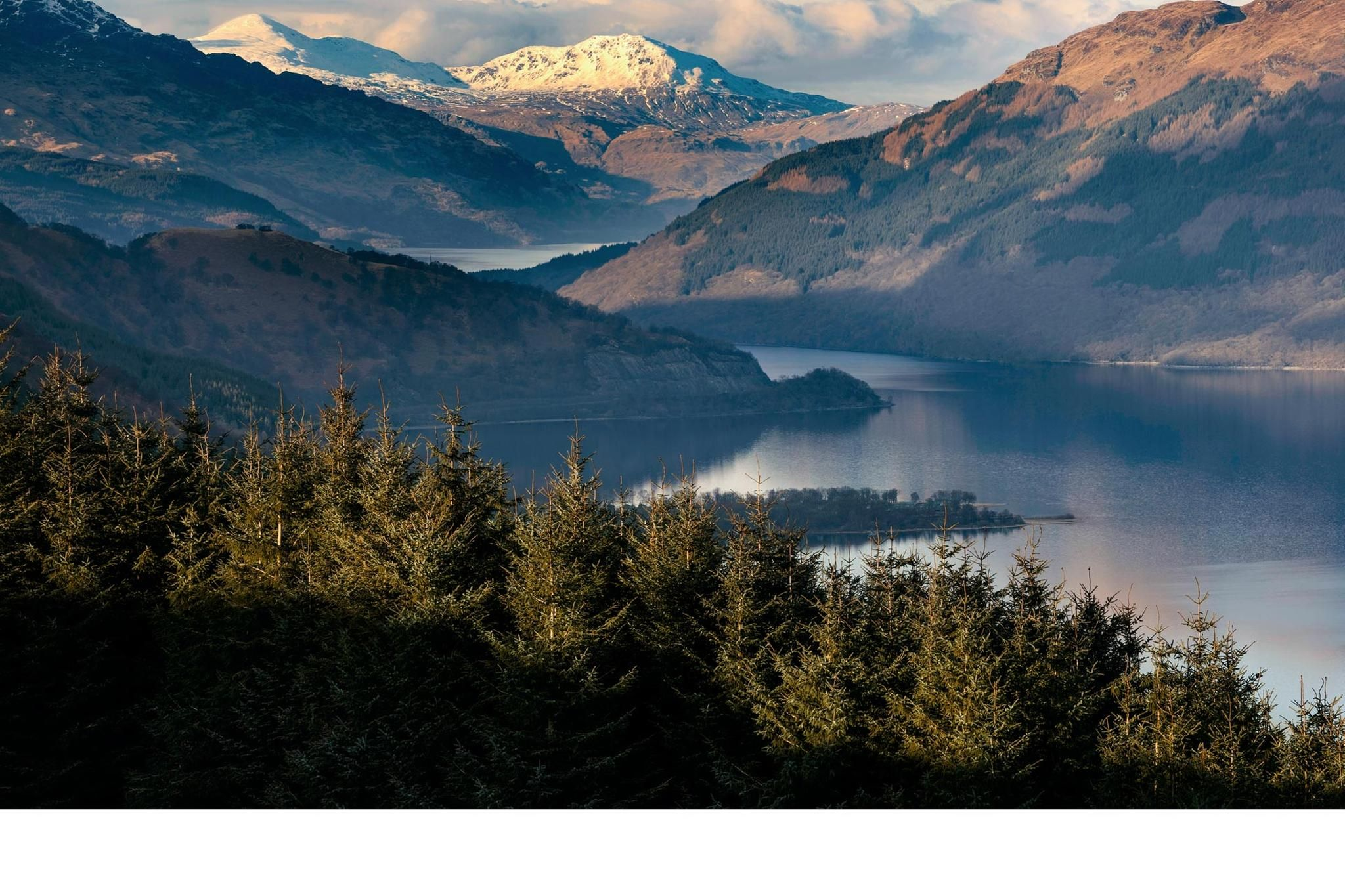 Loch Lomond, Trossachs, Stirling & Forth Valley