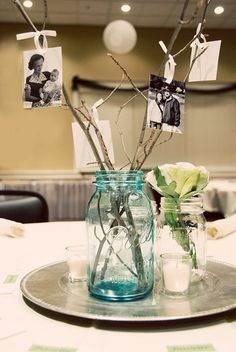 Table decorations Pinteres