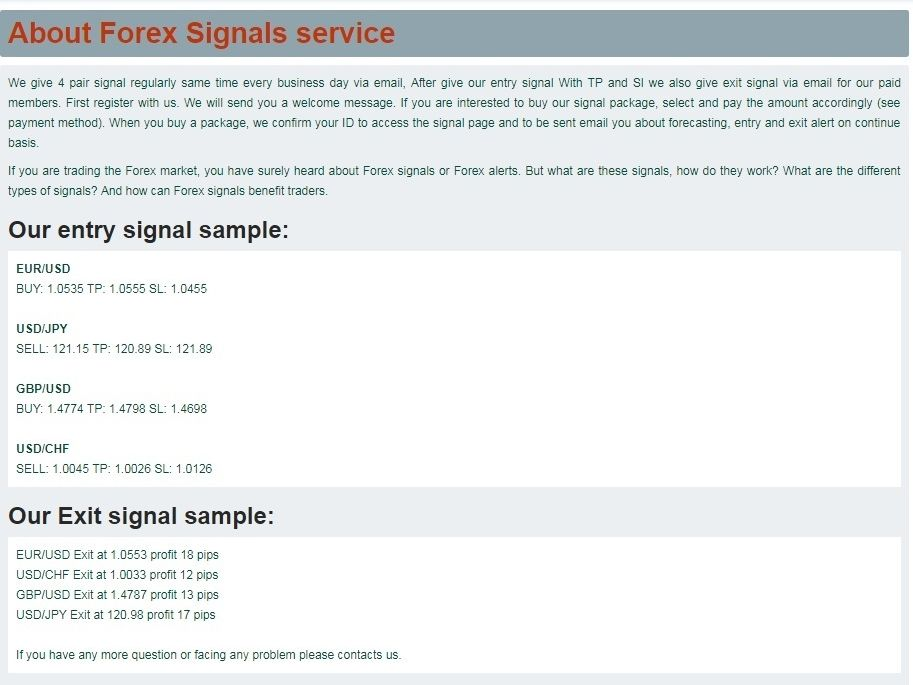 Best Forex Signals Service With Email And Sms Foreign Currency