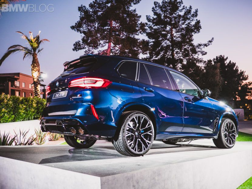 2020 Bmw X5 M Competition Featured In Tanzanite Blue Ii Metallic Bmwfiend Com In 2020 Bmw Bmw X5 M Bmw X5