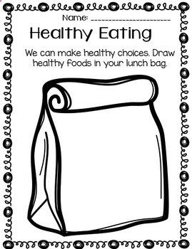 My school has a Healthy Living Week once a year! Each day we discuss ...
