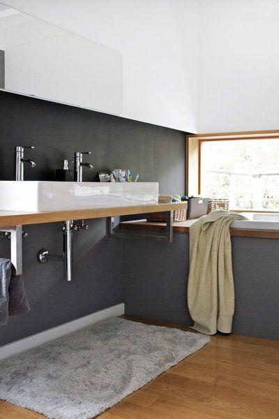 9 frische ideen f r w nde in betonoptik betonoptik schmunzeln und wandfarbe. Black Bedroom Furniture Sets. Home Design Ideas