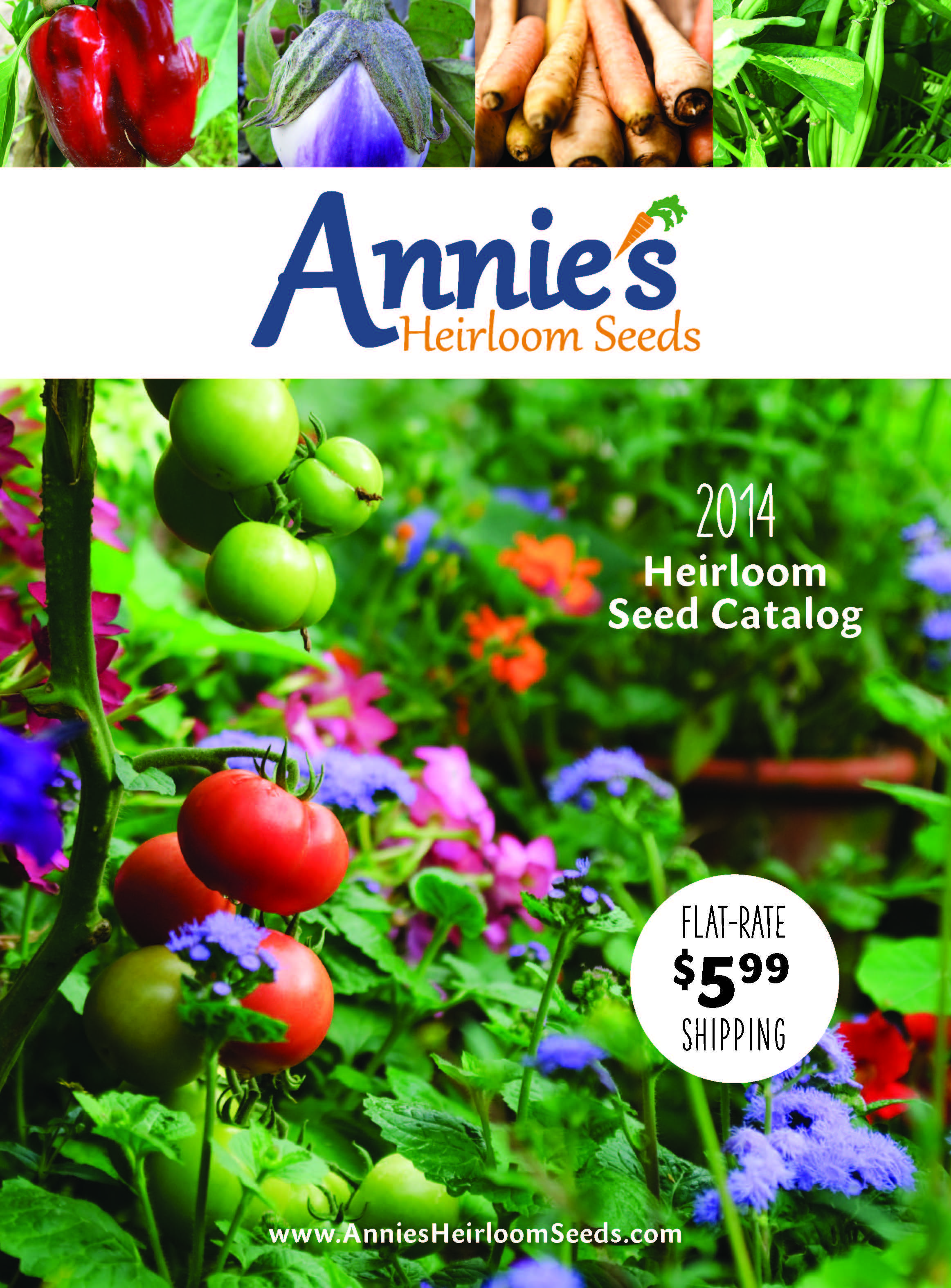 Organic heirloom seeds