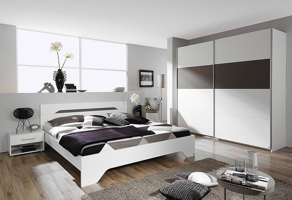 rauch Schlafzimmer-Set (4-tlg) Jetzt bestellen unter   - schlafzimmer braun weiß