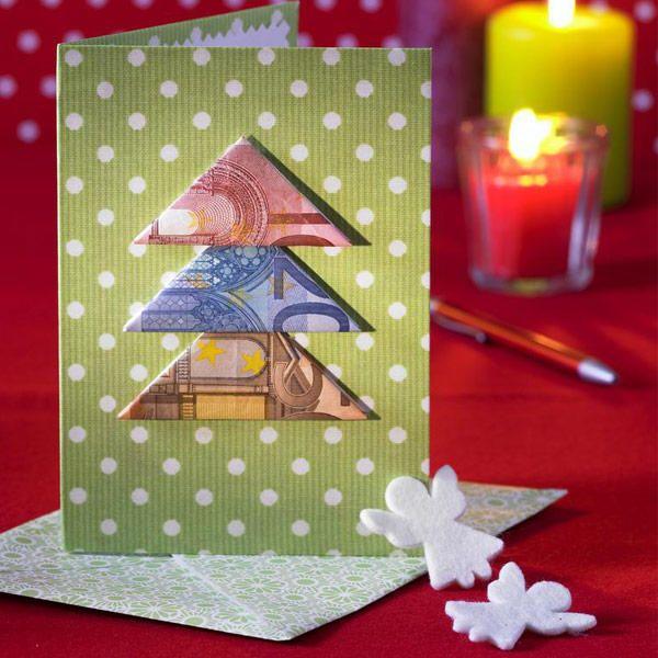 Geldgeschenke Zu Weihnachten Verpacken Advents Winterzeit