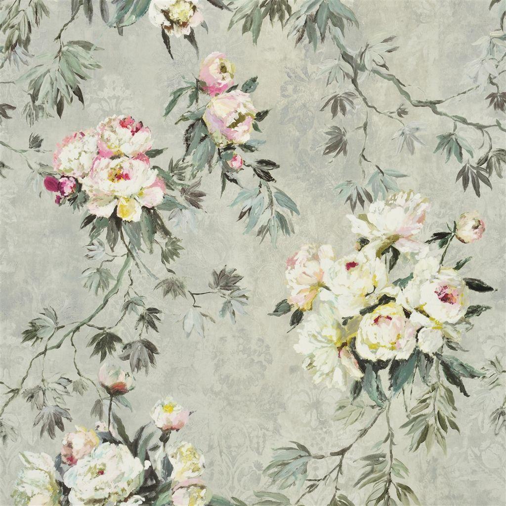floreale grande zinc fabric Designers Guild