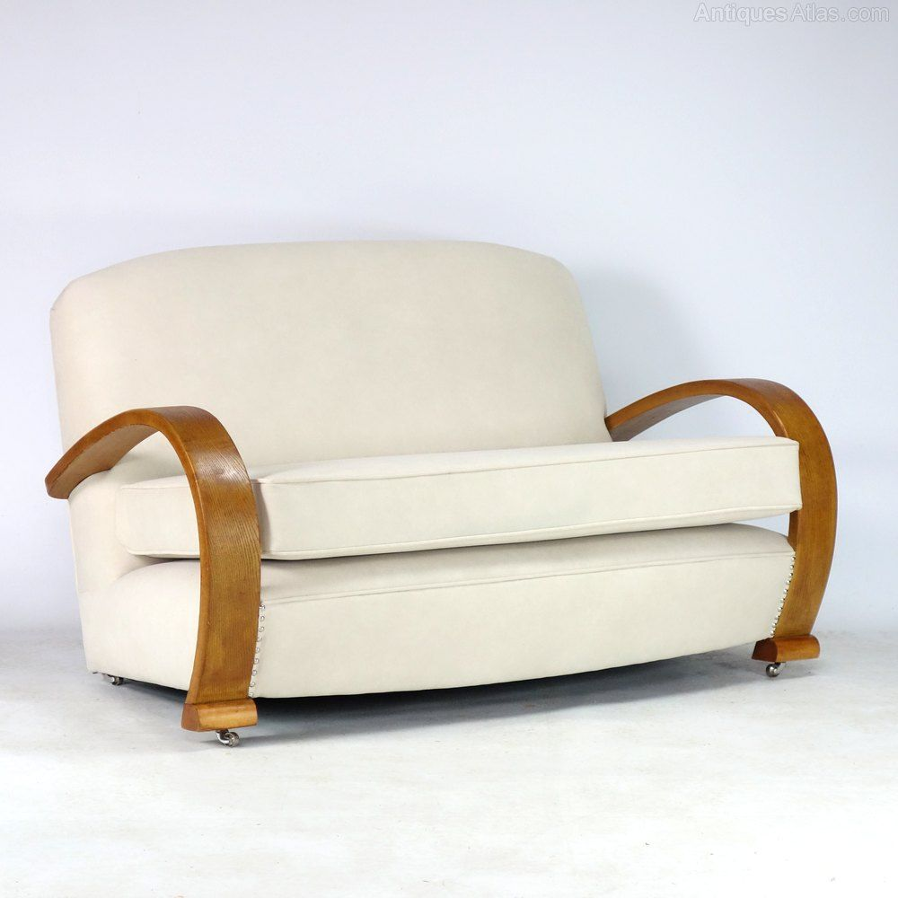 Canapé Modulable Atlas Art Deco Sofa Settee 1930 S In 2019 Art Deco Art Deco