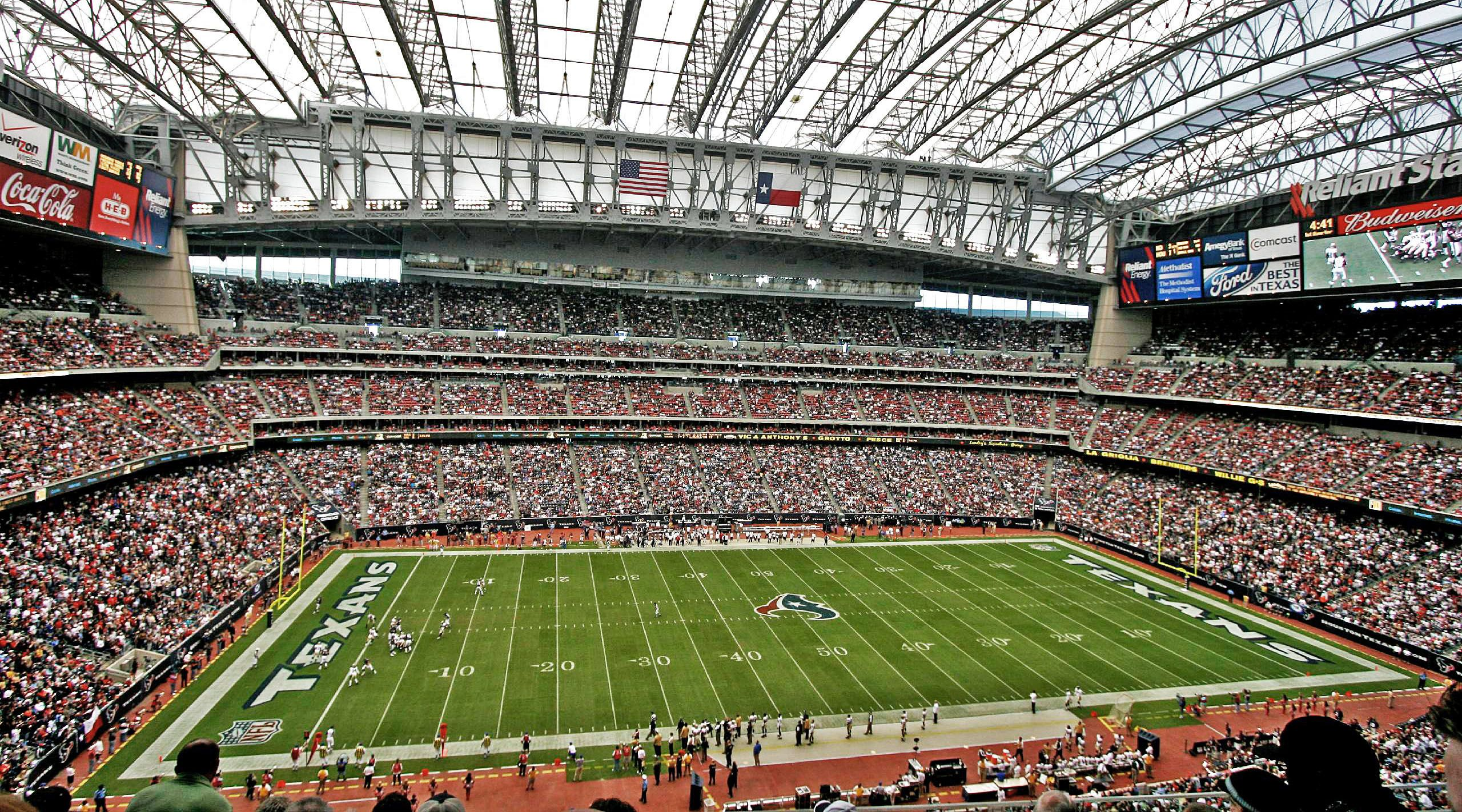 Houston Texans Reliant Stadium Capacity 2002 to Present