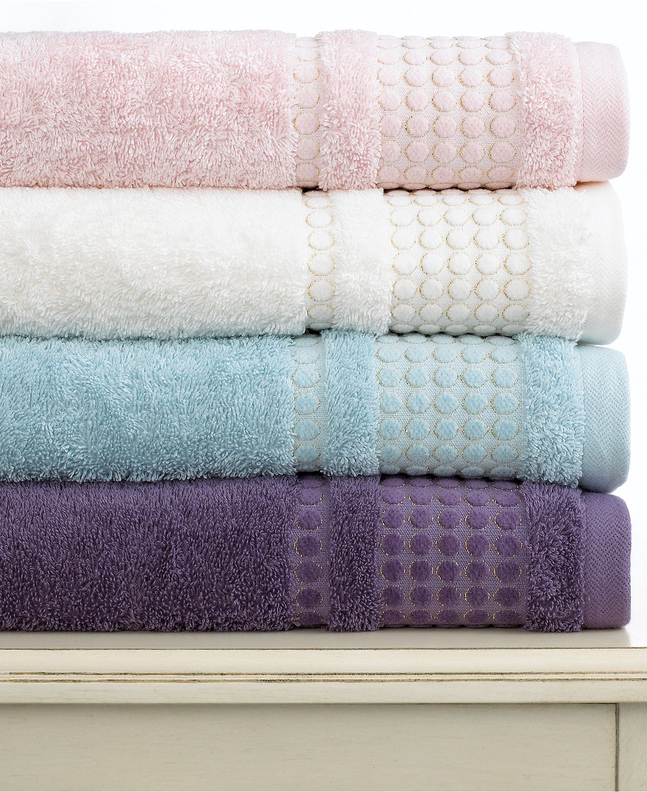 Bianca Bath Towels Art Deco Collection Bath Towels Bed Bath - Lilac bath towels for small bathroom ideas