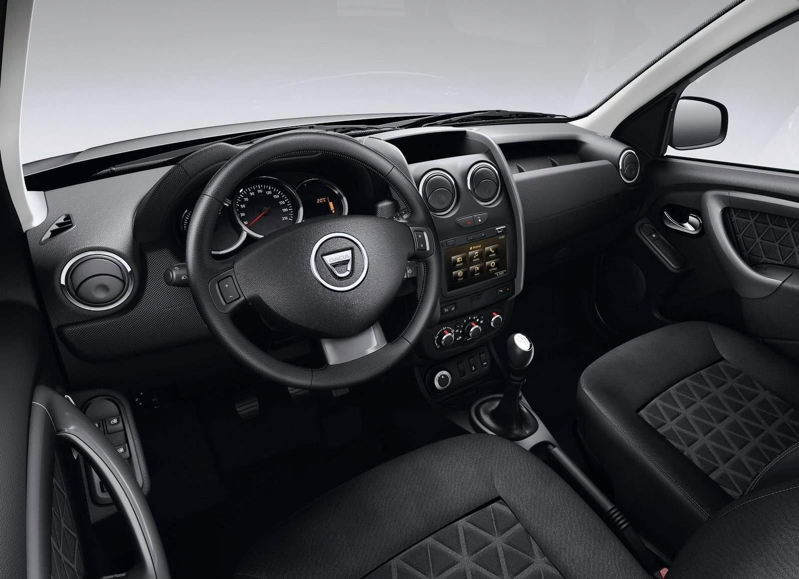 2014 Dacia Duster\'s Interior | Maxabout Autos | Pinterest | Dusters ...