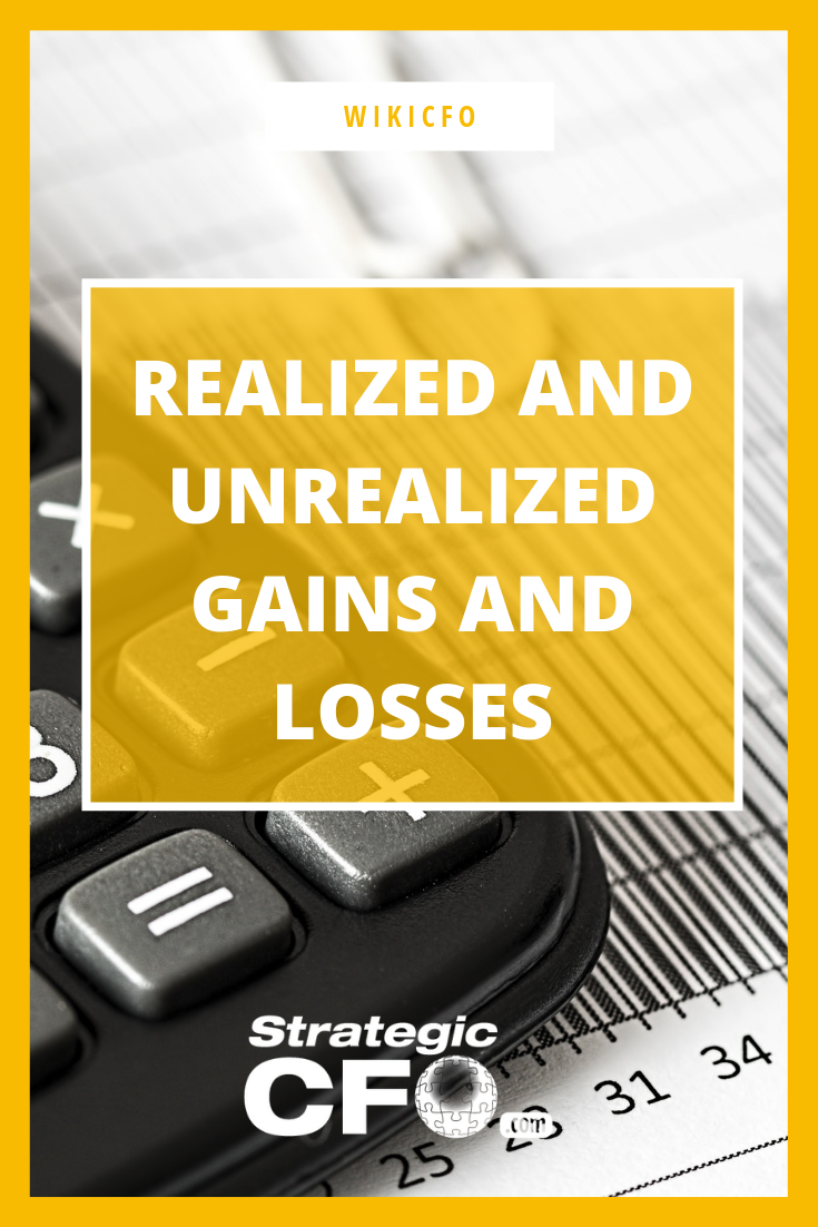 realized and unrealized gains losses gain loss realize provision for doubtful debts on balance sheet