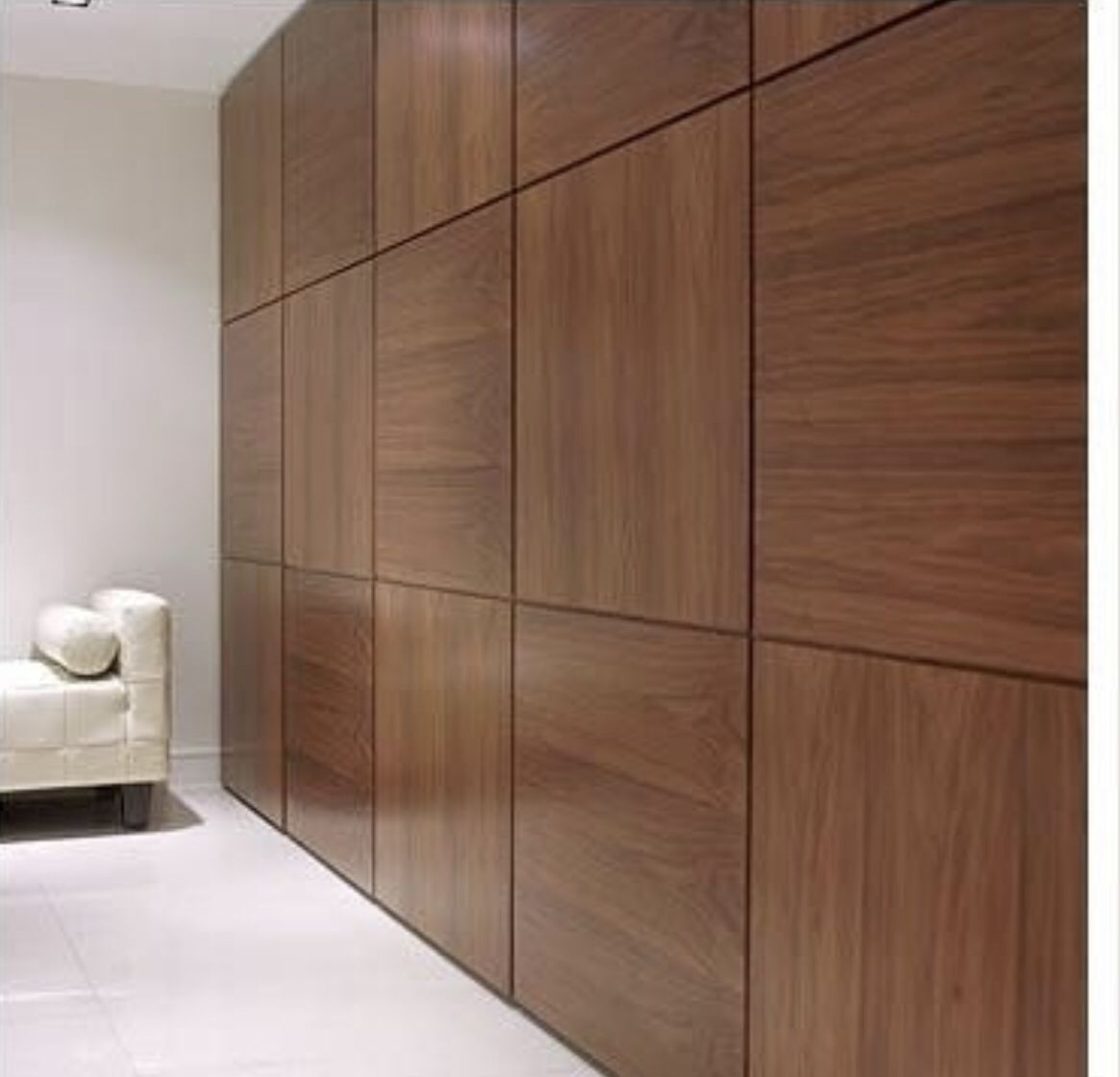Built In Veneer Furniture Wood Wall Paneling Modern Interior Cladding Wood Feature Wall