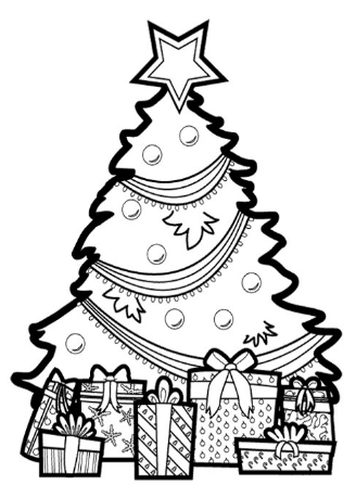 Christmas Tree Christmas Pictures To Color Christmas Coloring Page Free Col Christmas Tree Coloring Page Tree Coloring Page Christmas Present Coloring Pages