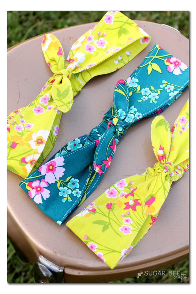 Fabric Knotted Headband Craft Ideas Sewing Headbands