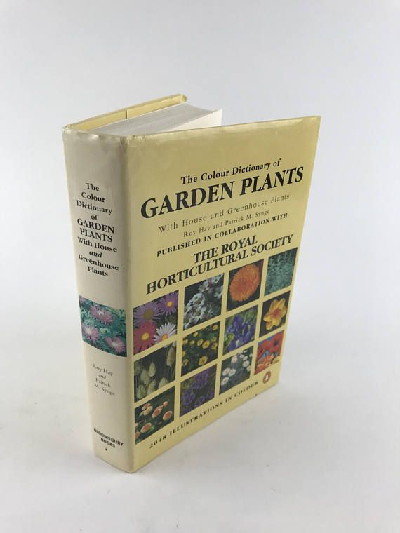 Indoor Gardening Books Vintage gardening book the colour dictionary of garden indoor vintage gardening book the colour dictionary of garden workwithnaturefo