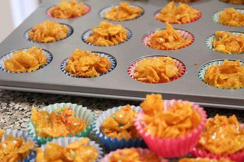 Resepi Cornflakes Madu Makanan Enak Makanan Memanggang Kue