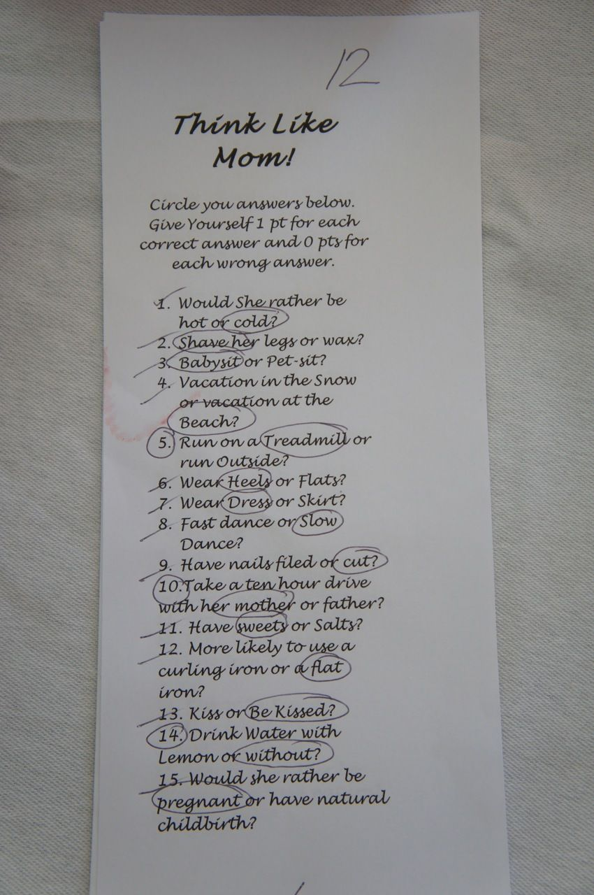 Baby Shower Rules Part - 37: Babyshower · Think Like Mom Game Rules | ... Tied But They Had A Tie Breaker