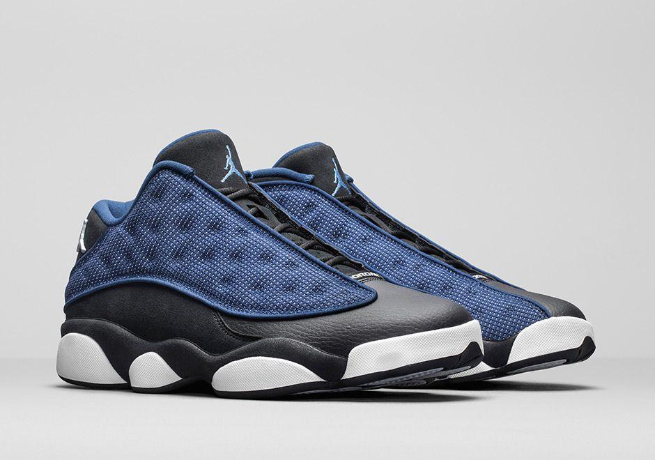 4a01678bbd01 Air Jordan 13 Low Brave Blue + Chutney Release Date Info