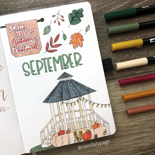 #septemberbulletjournalcover