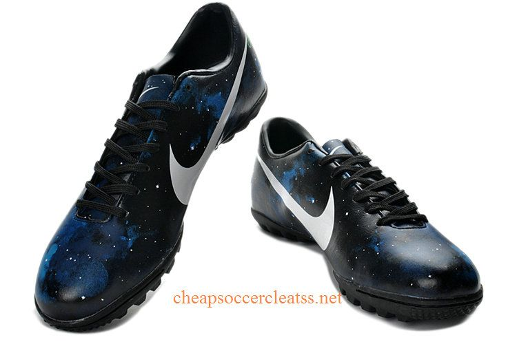 online store 8a4c8 c43b8 ... Air Jordan 11. Nike Mercurial 2013 CR7 Limited Edition TF Soccer Cleats  Cheap Black White Blue Galaxy