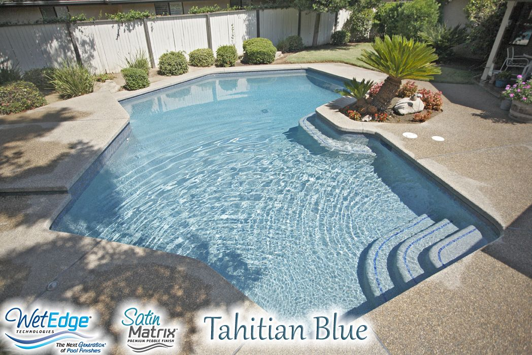 Satin Matrix Tahitian Blue Installed By New Image Pool Interiors
