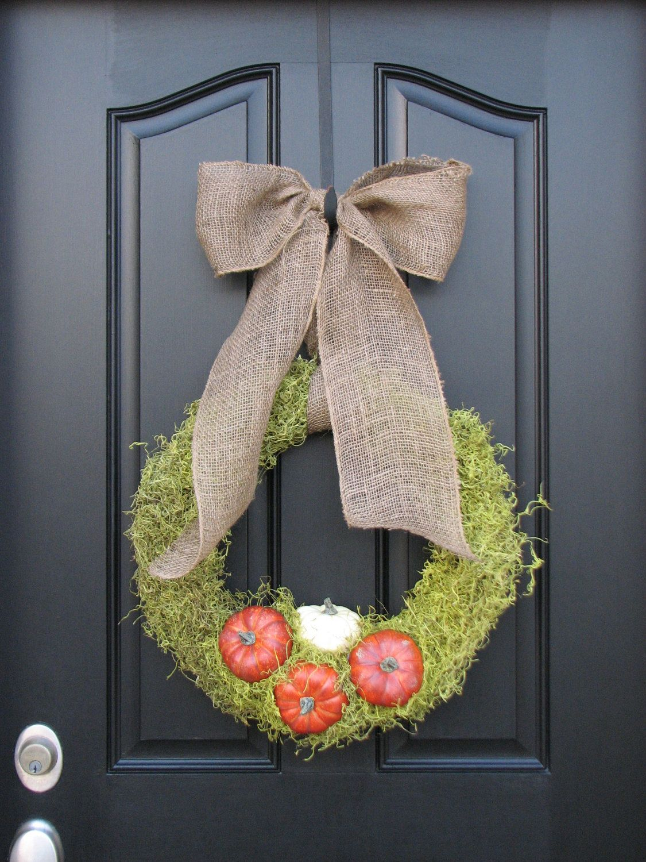 The Pumpkin Patch - Personalized Decor - Fall Front Door Decor - halloween front door decor
