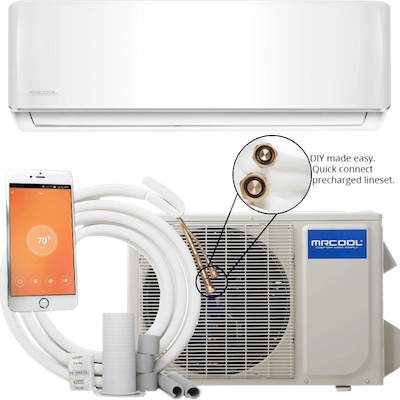 Mrcool Diy Ductless Air Conditioner Mini Split Heat Pump