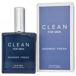 clean shower fresh by dlish edt spray for men