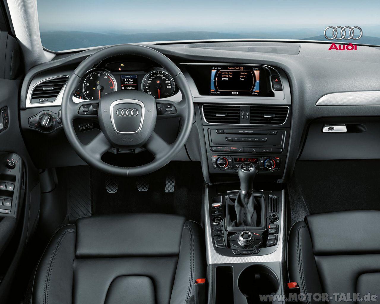 Audi A4 2008 Dashboard Audi A4 Audi Audi A4 2008