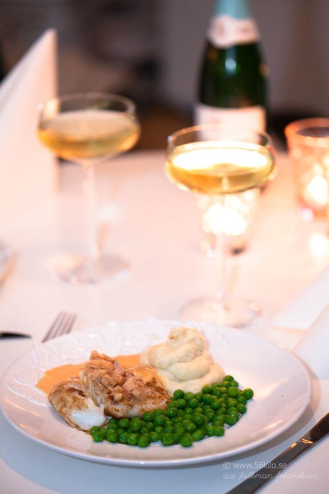 torskrygg med champagnesås