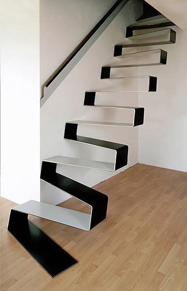 Escadaria Da Fita Em Liben, PRAGA. Eccentric Furniture, Wacky Furniture.  Inovative Furniture