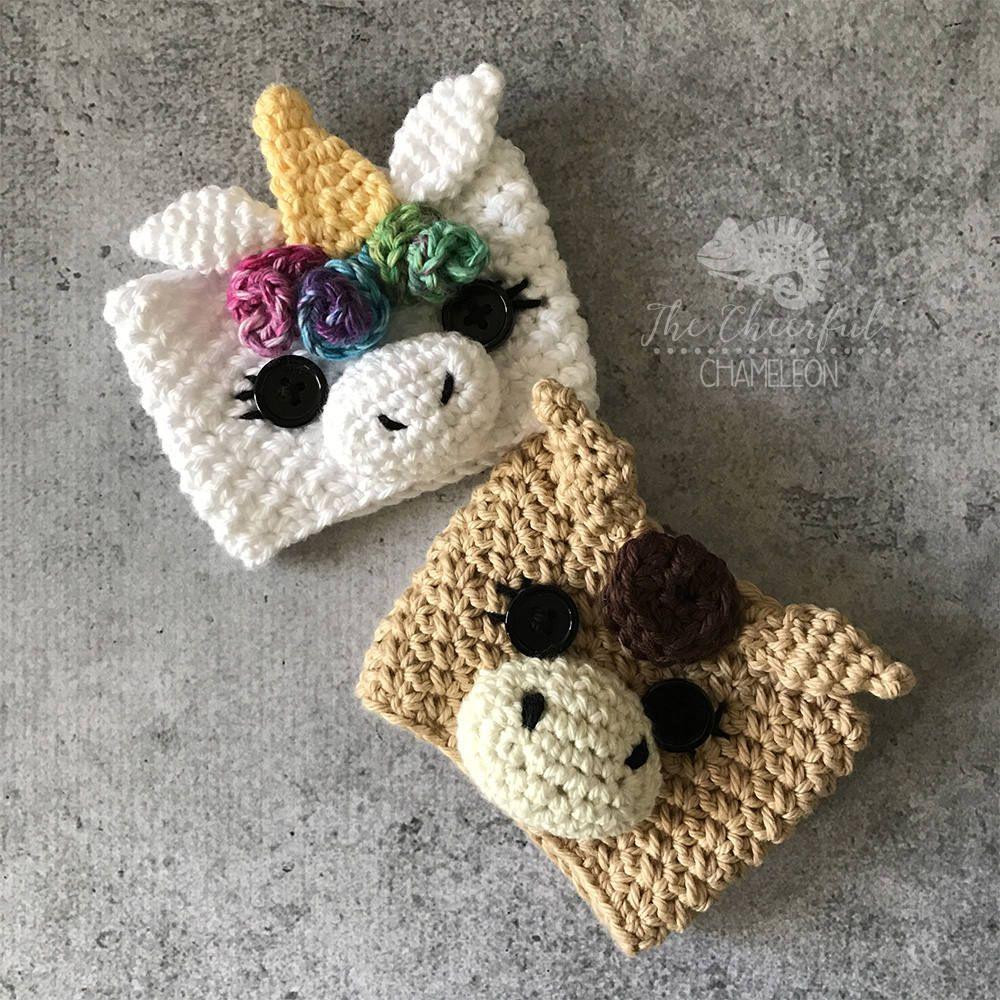 Unicorn Crochet Pattern Instant Download Horse Crochet Pattern