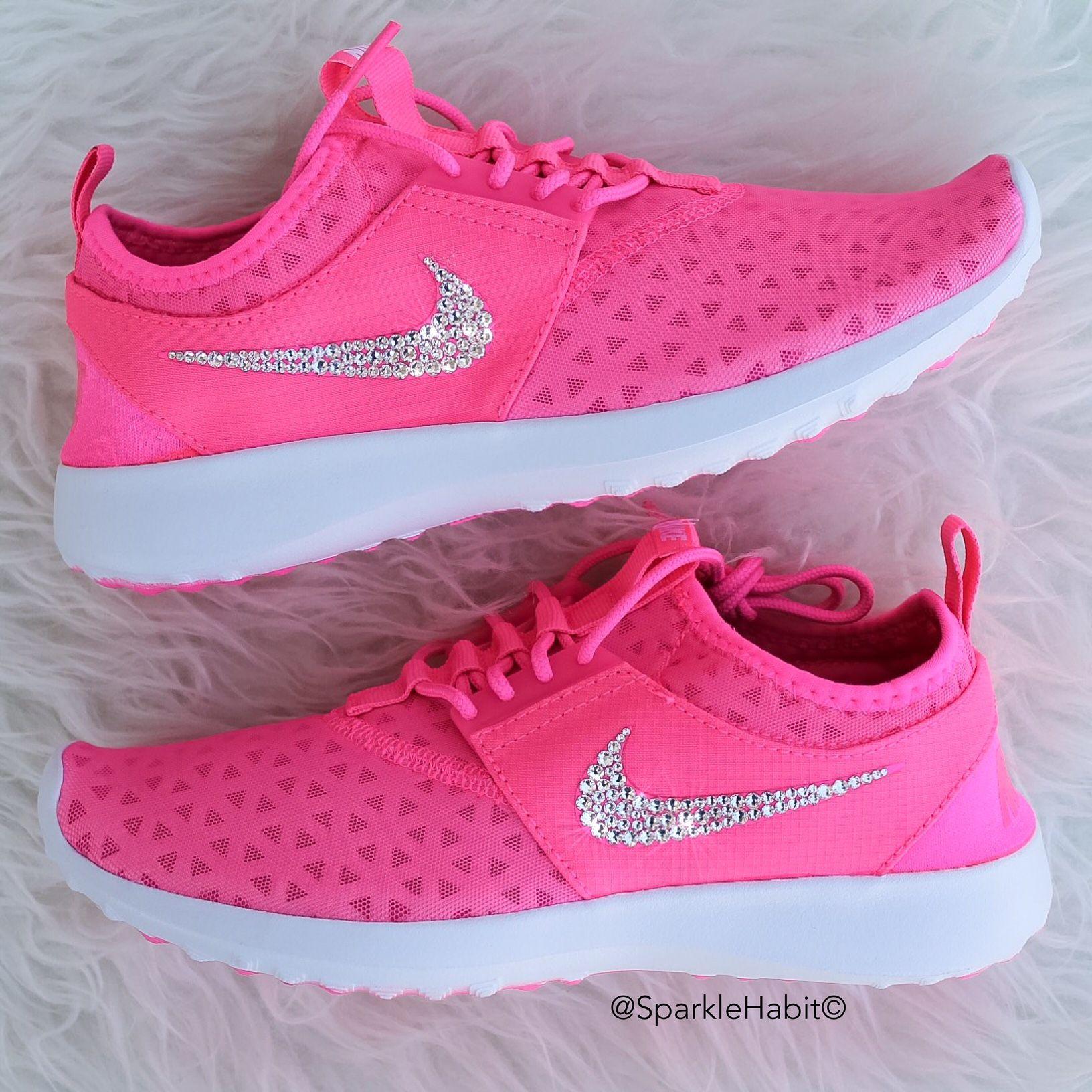 9d8923672ccdd Women s Nike Juvenate w  Swarovski Rhinestones - Hot Pink   Glitterfix