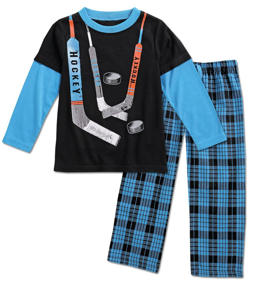 6c7c295bd0fc From CWDkids  Hockey Pajamas