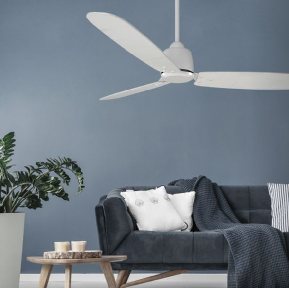 The Rio Ceiling Fan Has A Low Wattage Dc Motor Using Only 35w On High