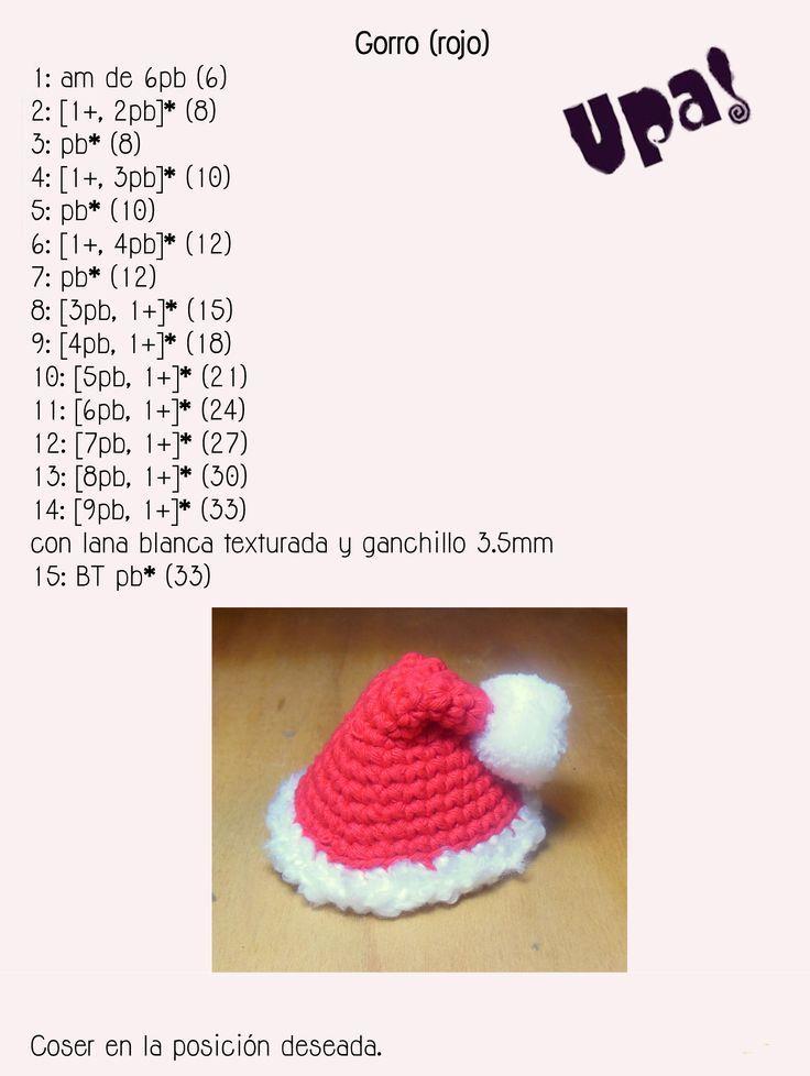 Resultado de imagen para papa noel crochet   Navidad   Pinterest ...