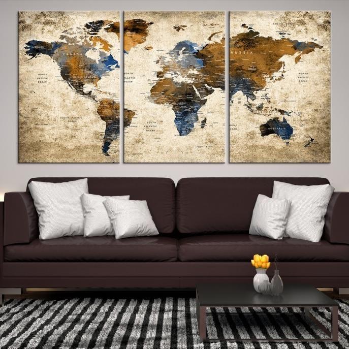31321 world map wall art world map canvas world map print 31321 world map wall art world map canvas world map print world gumiabroncs Choice Image