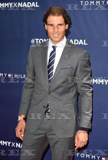 Tommy Hilfiger and Rafael Nadal Launch Global Brand Ambassadorship, New York, 25 Aug 2015