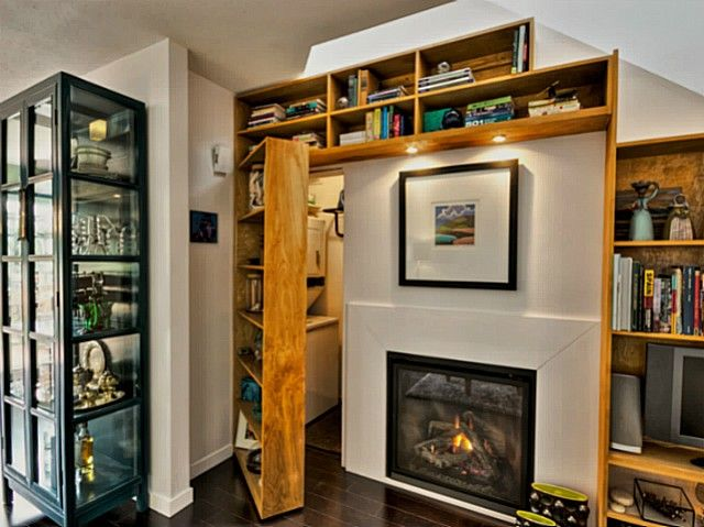 Book shelf door Hidden laundry rooms, Home, Hidden rooms