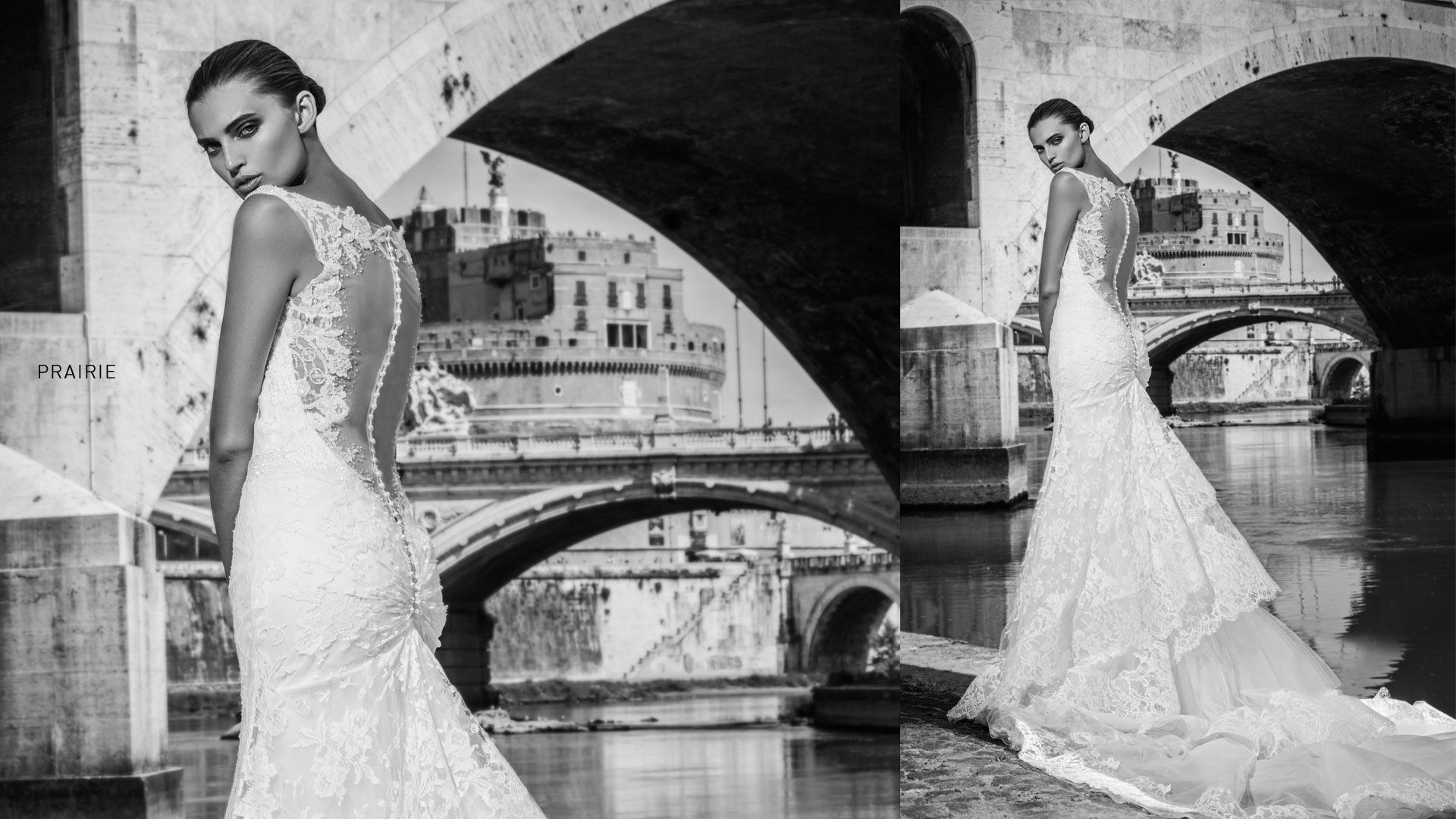Famous wedding dresses  The designer Alessandro Angelozzi Couture host famous italian