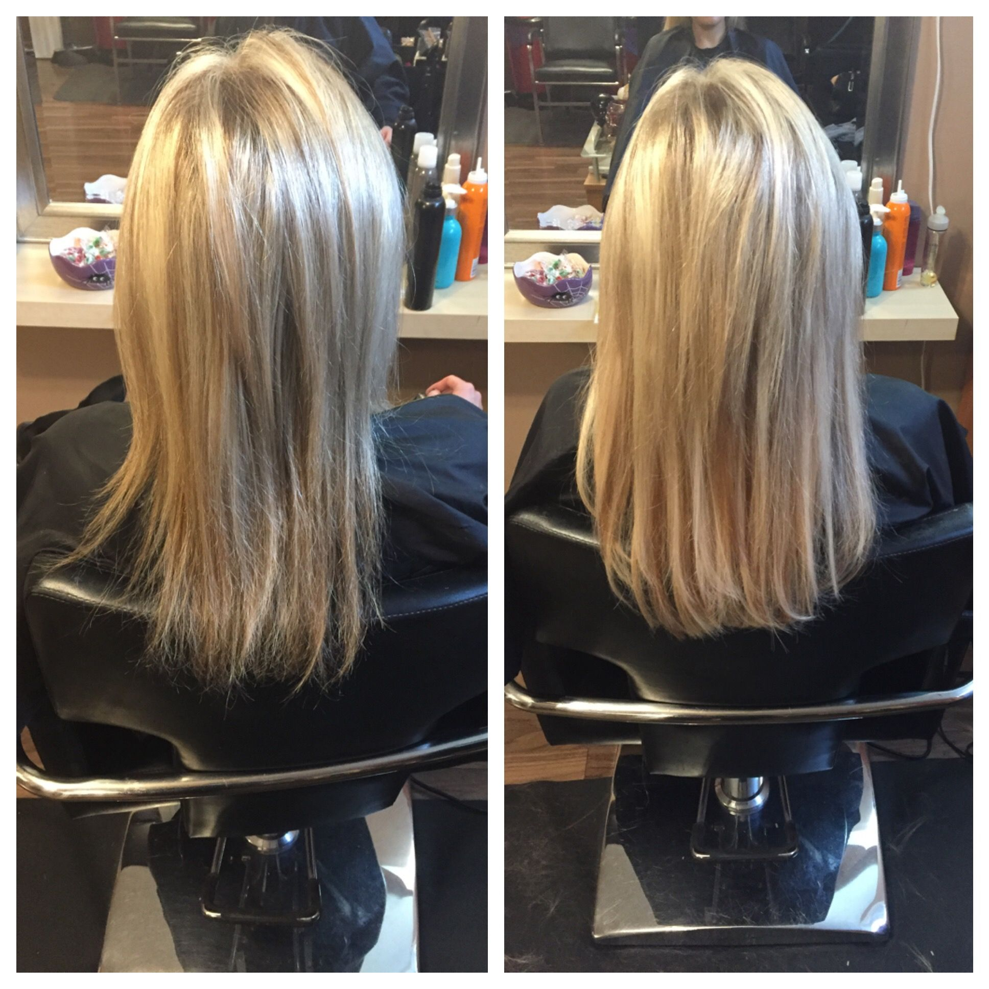 Thicken Hair With Fusion Extensions Hair Styles Pinterest
